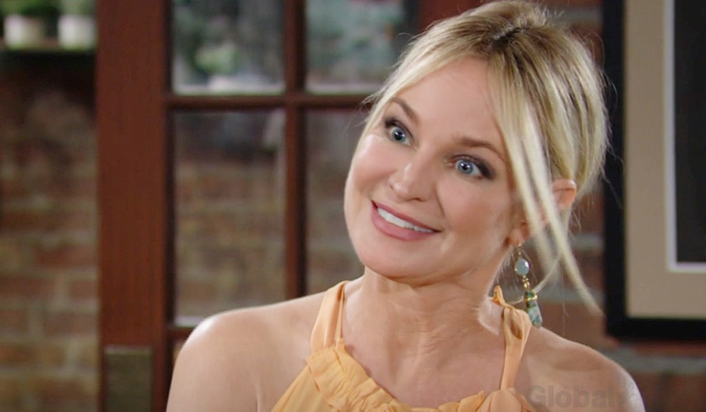 Sharon reacts to job offer Y&R