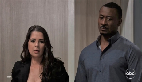 Shawn and Sam are shocked by what they find in Naomi's room General Hospital