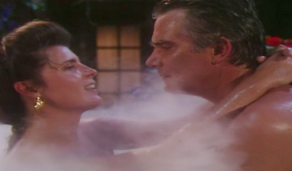 Sheila, Eric flashback bubble bath B&B