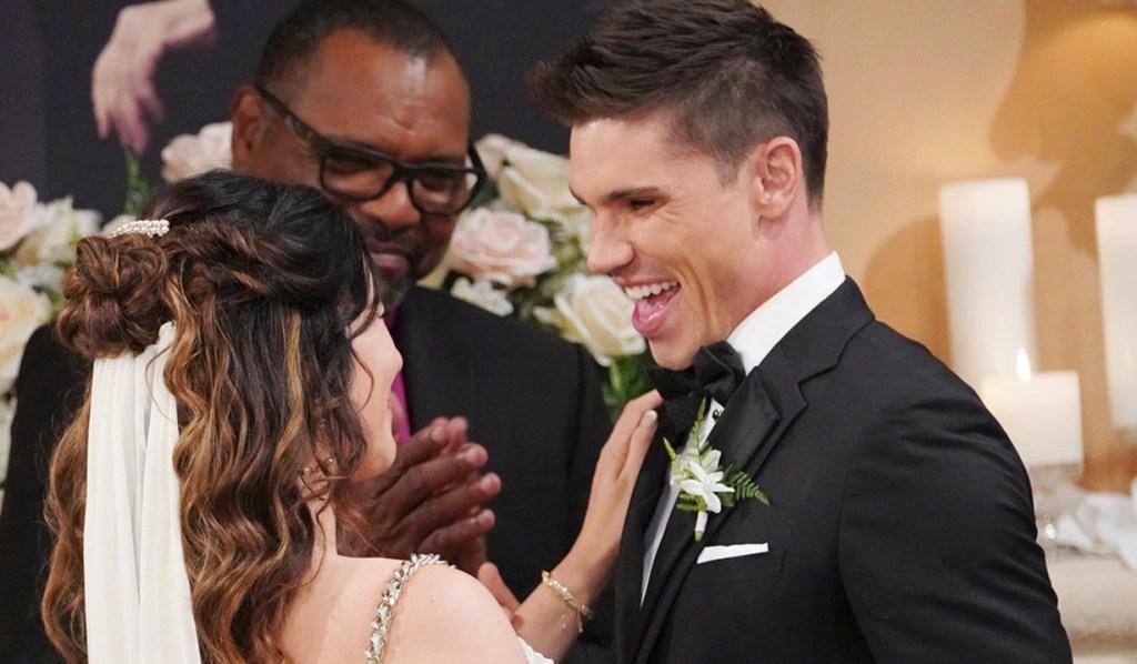 Steffy, Finn married B&B