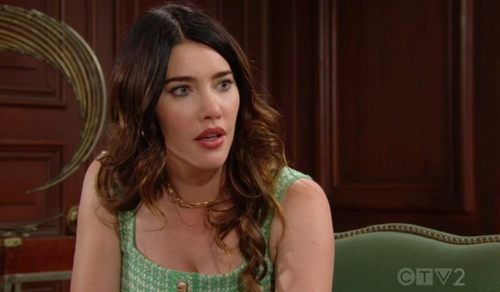 Steffy cant get over sheila B&B