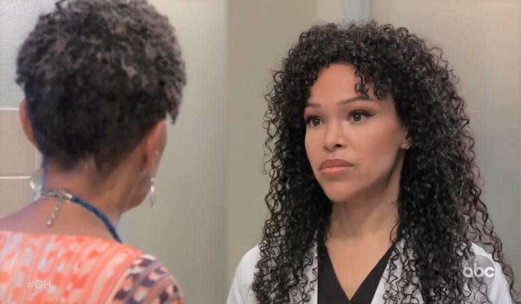 Stella warns Portia at General Hospital