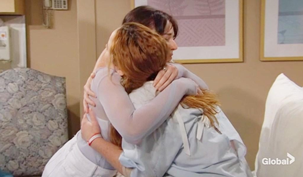 Tessa, Mariah reunited Y&R