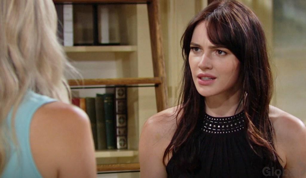 Tessa question Abby Y&R