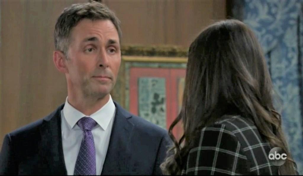 Valentin tells Brook Lynn about his past at Quartermaine estate General Hospital