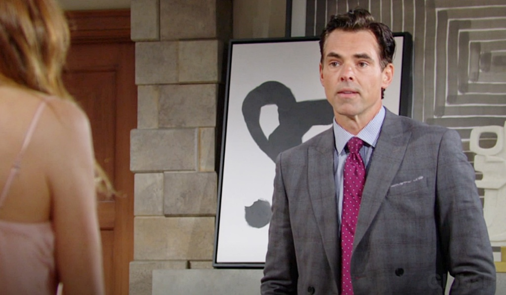 Victor shares engagement news Billy Y&R