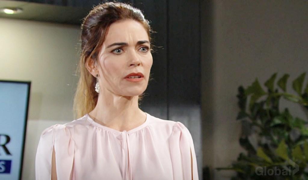 Victoria confront Lily Y&R