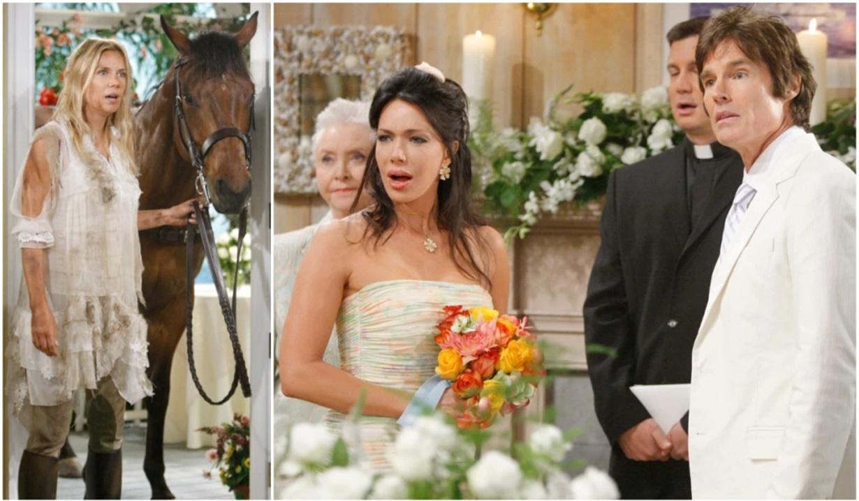 Ridge, Taylor wedding stopped Brooke B&B