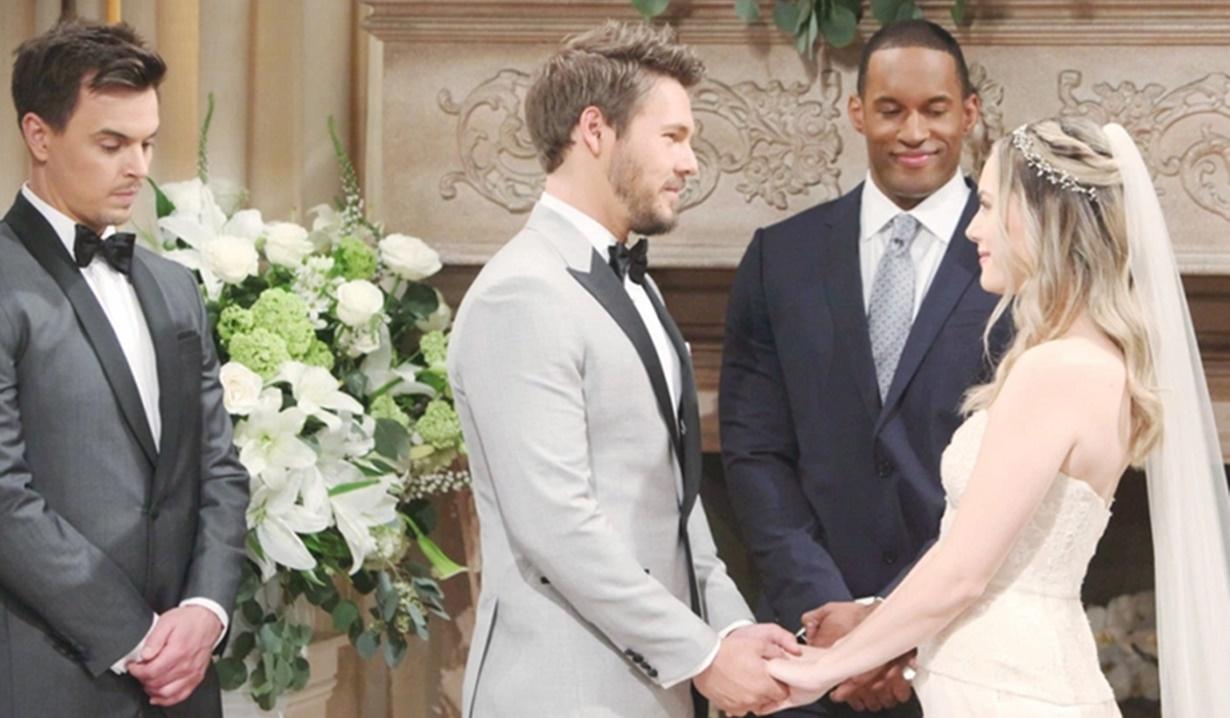 Wedding, Wyatt, Liam, Carter, Hope B&B