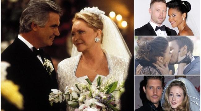 weddings eric stephanie, rick maya, steffy, liam, deacon, bridget B&B