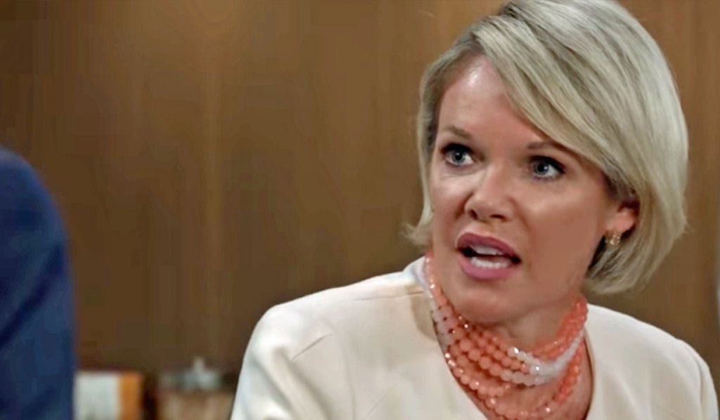 Ava wonders when stalking will stop GH