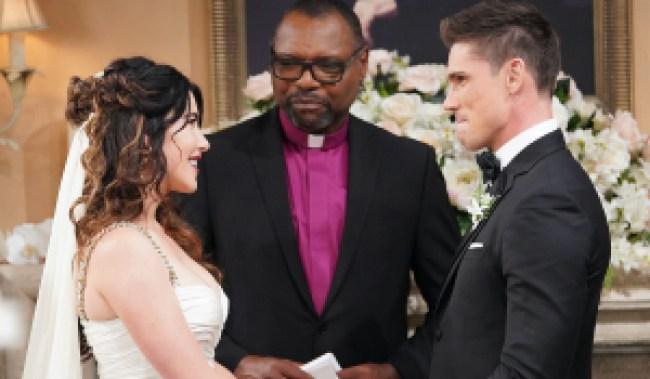 bold steffy finn wedding officiant HW