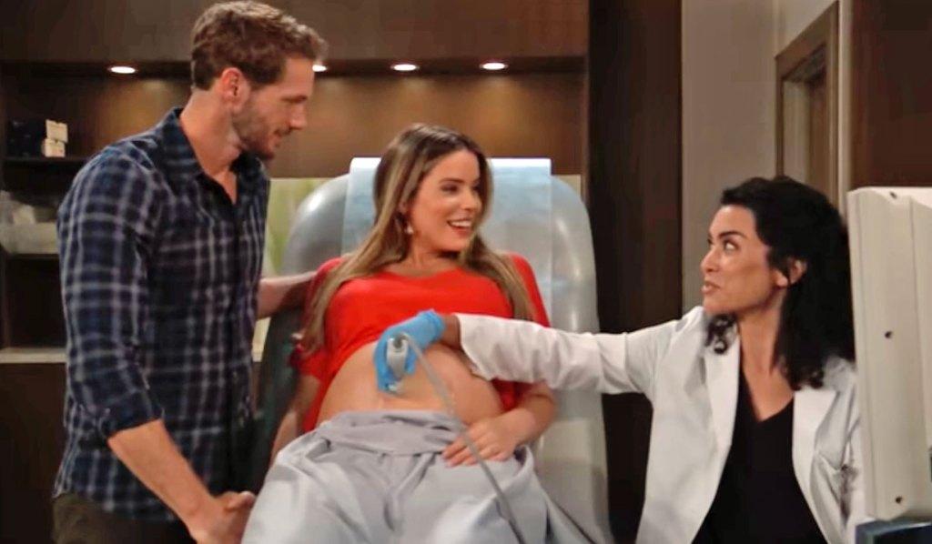 Brando and Sasha get a baby checkup GH