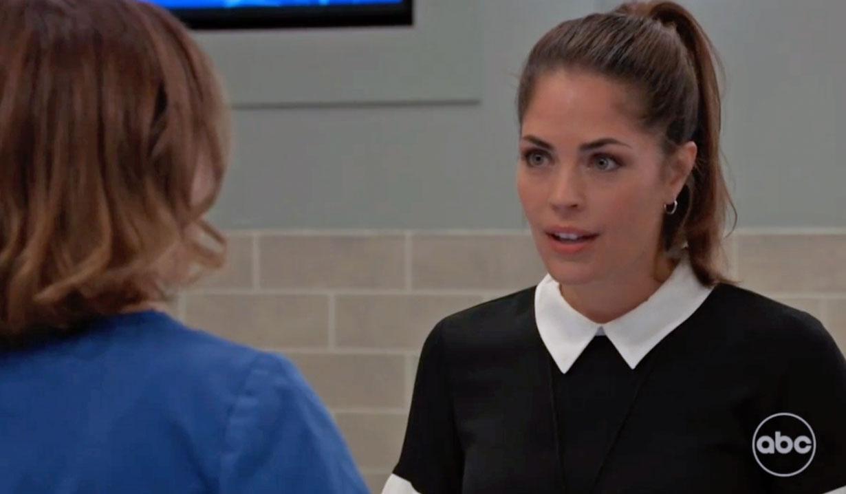 Britt upsets Liz GH