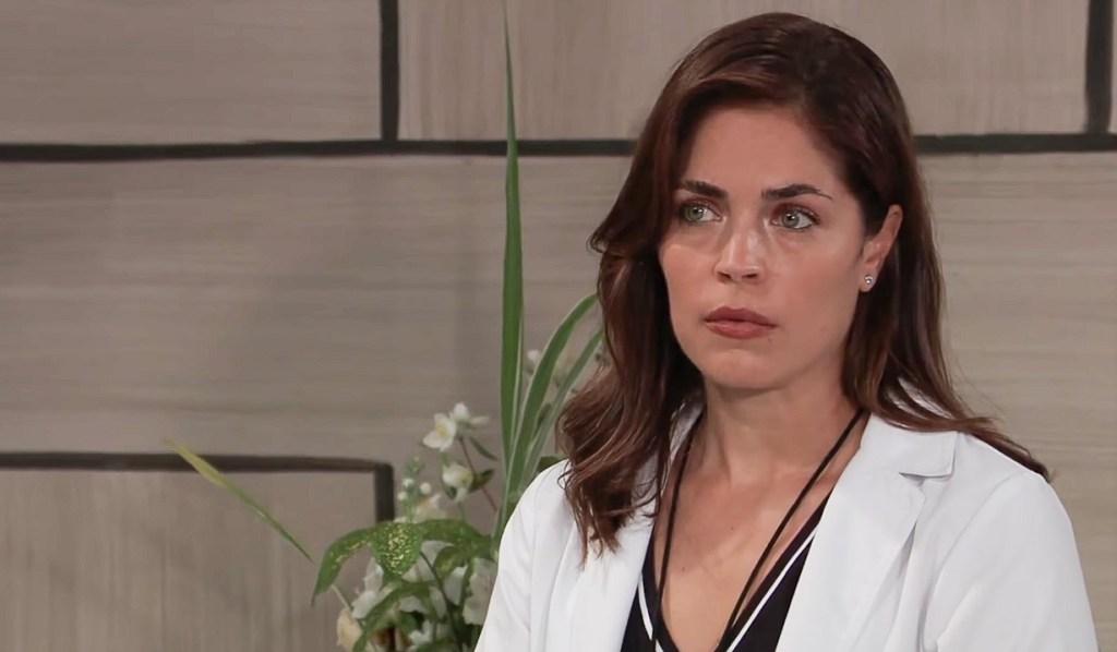 Britt watches Jax confront Jason GH