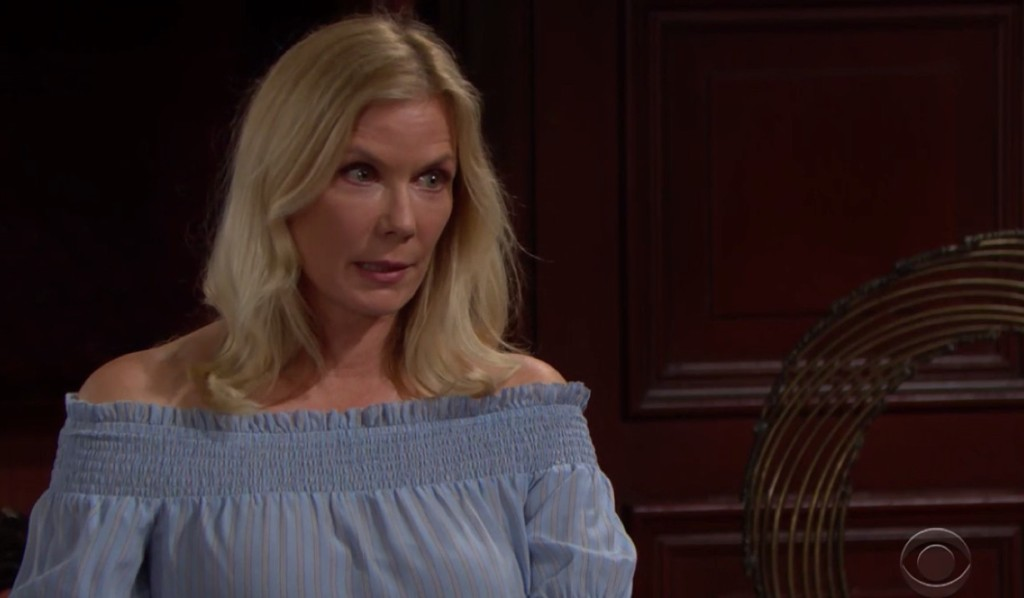 Brooke prepares for romance with Ridge on Bold and Beautiful