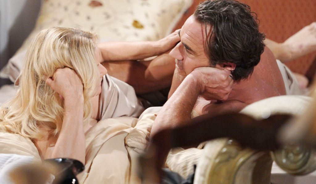 brooke and ridge talk after sex on the bed bb