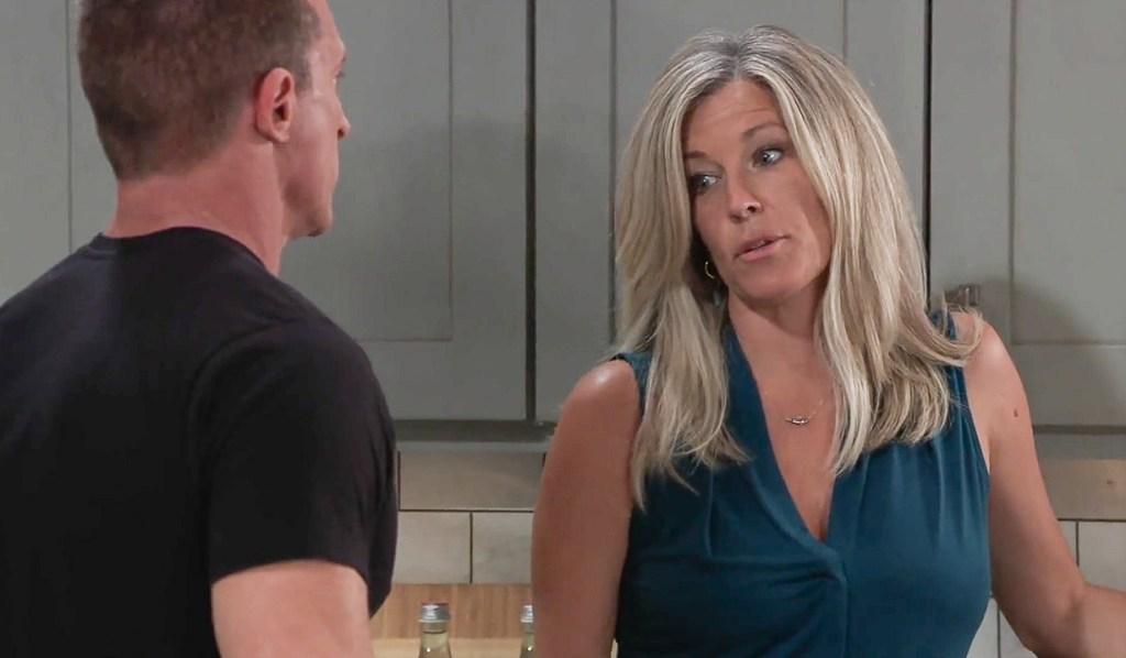 Carly and Jason talk business GH