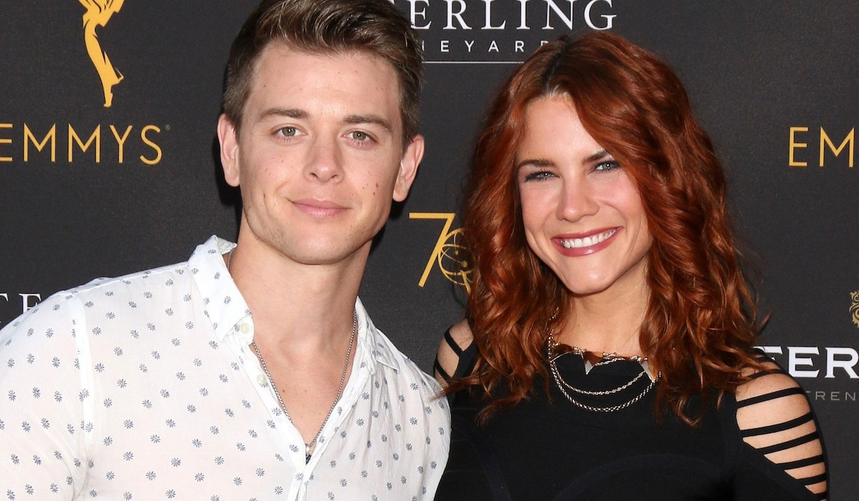 Chad Duell, Courtney Hope at arrivals for Daytime Programming Peer Group Celebration, Saban Media Center at the Television Academy, North Hollywood, CA August 22, 2018. Photo By: Priscilla Grant/Everett Collection