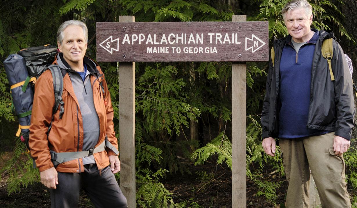 Chesapeake Shores season five mick and thomas hike hallmark