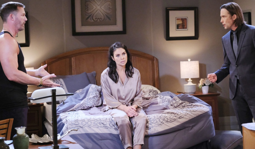 Chloe annoyed as Brady and Philip fight on Days of Our Lives
