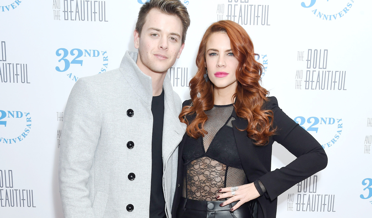 """Courtney Hope, Chad Duell""""The Bold and the Beautiful"""" 32nd Anniversary PartyGranvilleWest Hollywood, Ca.02/19/19© Tammie/jpistudios.com310-657-9661"""