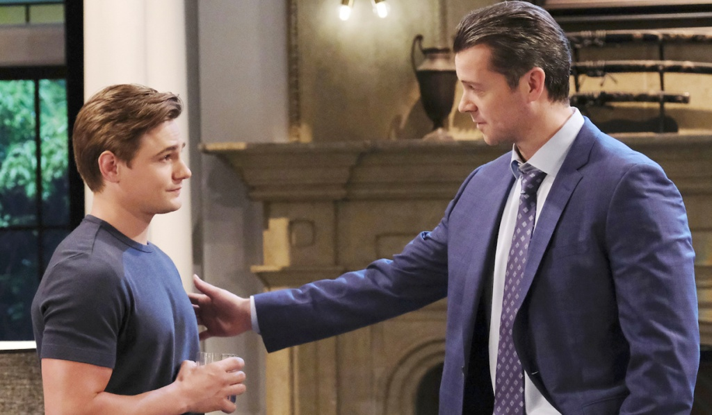 EJ reaches out to Johnny on Days of Our Lives