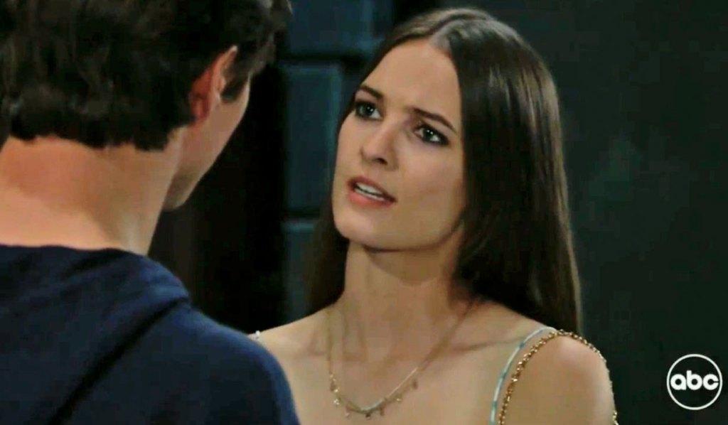 Esme confesses to Spencer GH