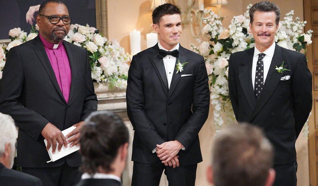 finn and his dad jack wedding bb