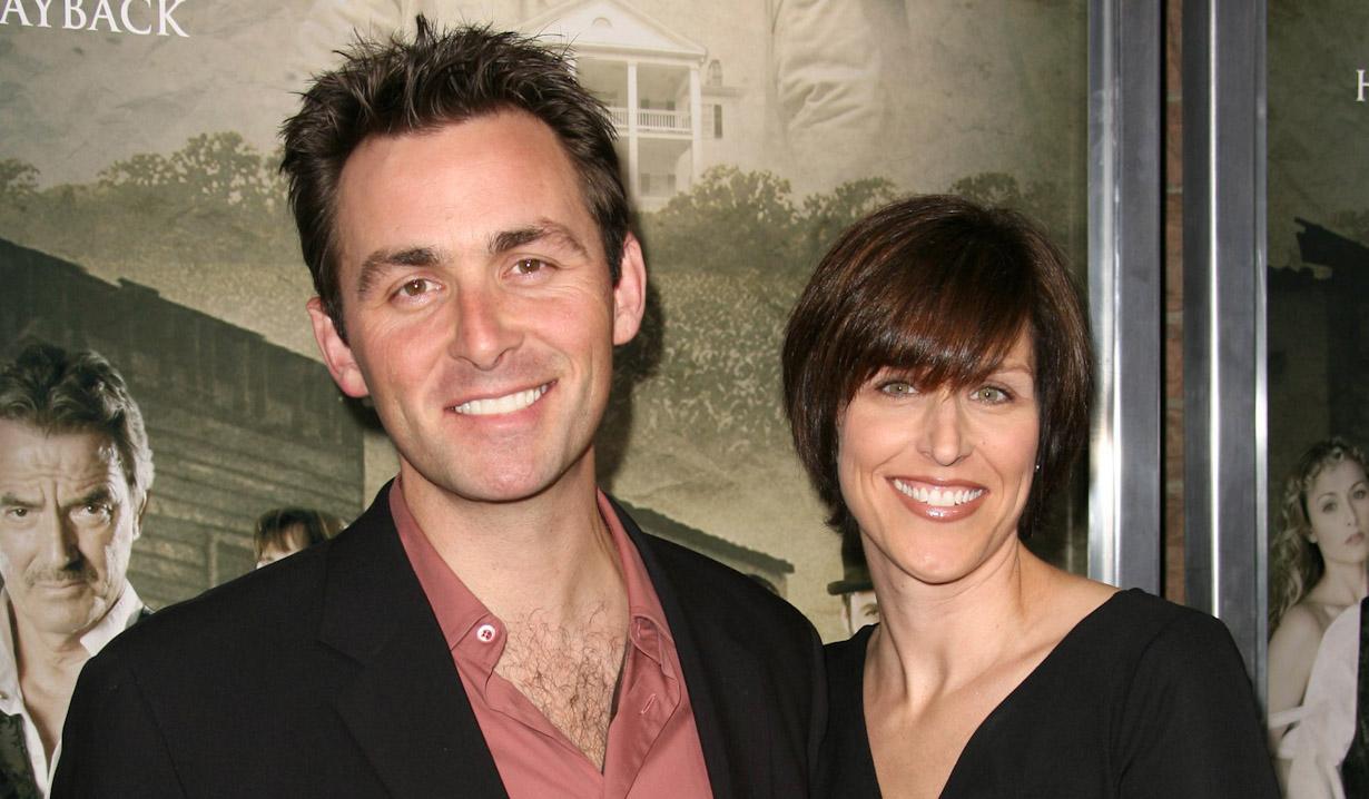 James Patrick Stuart, wifeThe Man Who Came Back - PremiereThe Aero TheatreSanta Monica, CA2/8/08Jill Johnson/jpistudios.com310-657-9661