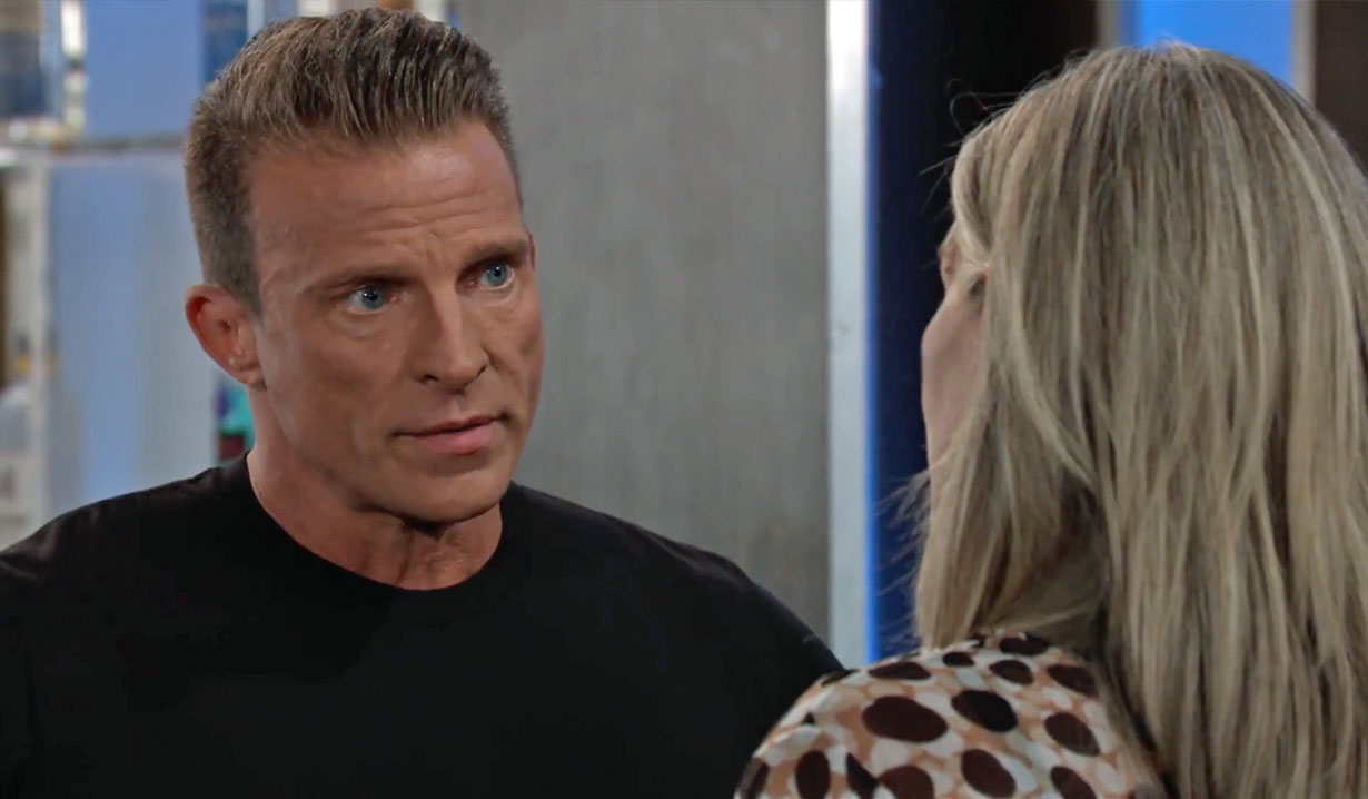 Jason and Carly discuss their marriage GH
