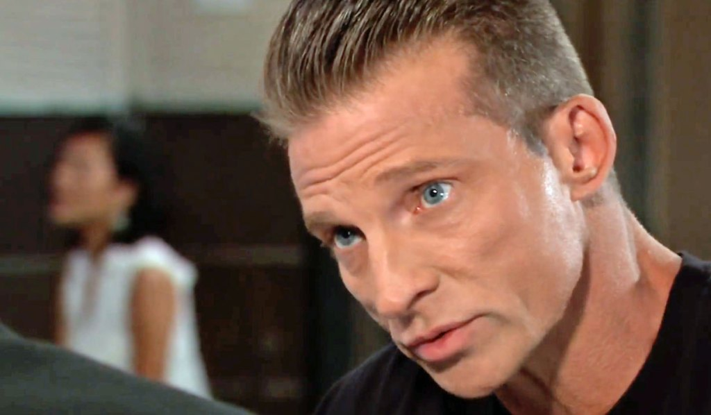 Jason is unhappy with his family being threatened GH