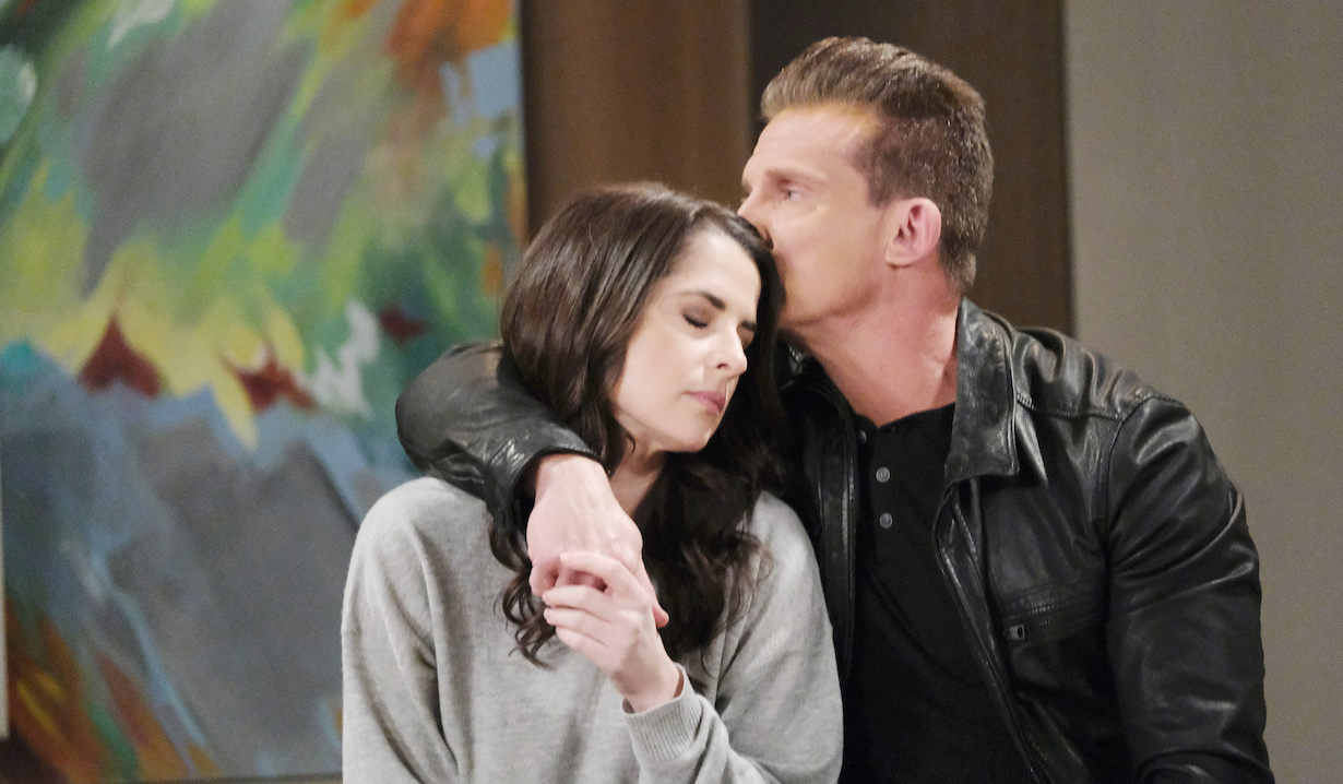 Sam McCall and Jason Morgan sneak around on General Hospital