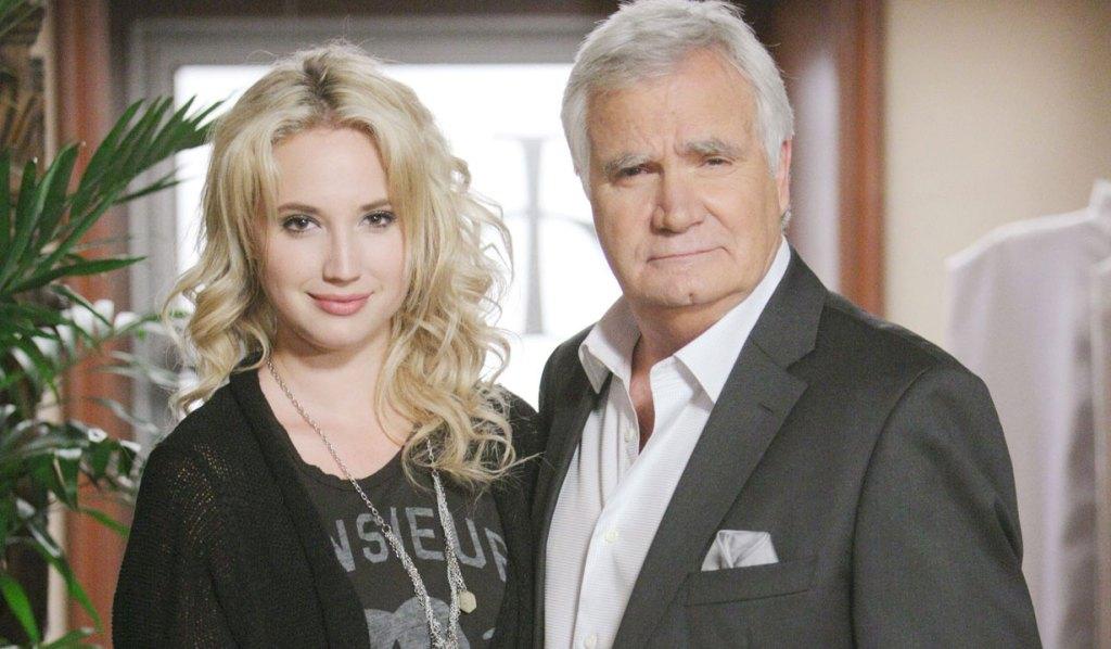 John McCook and daughter Molly Eric BB
