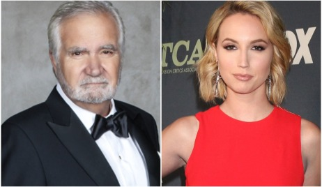 John McCook and daughtre Molly in Christmas movie bb