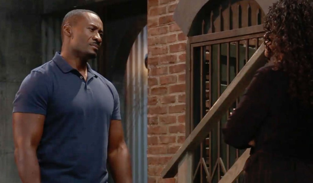 Jordan gives Shawn advice GH