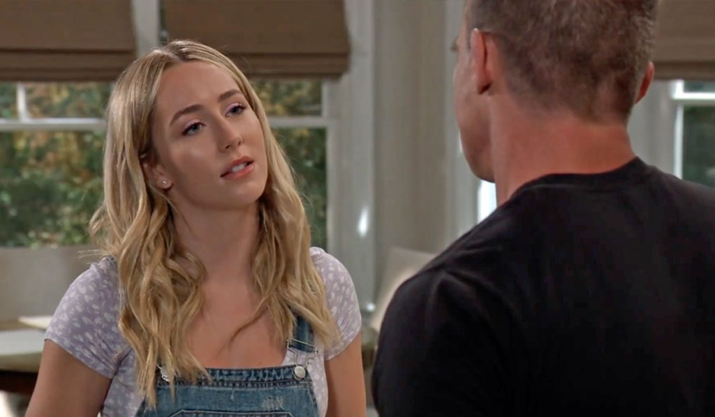 Joss feels something feels off about the wedding GH