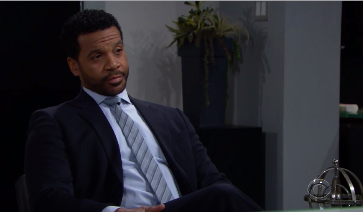 Justin tells Bill about Brooke's divorce on Bold and Beautiful