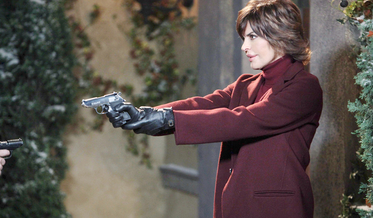 Lisa Rinna as Billie Reed on Days of our Lives