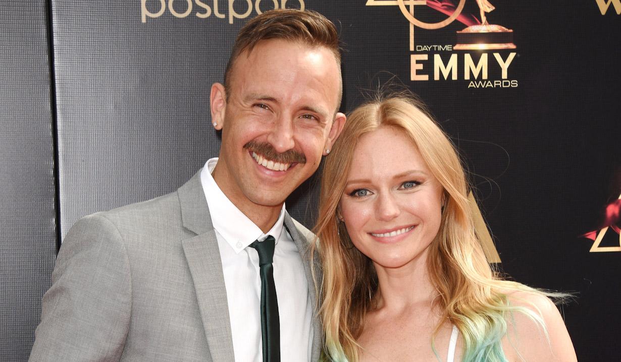 Marci Miller, Ryan Matteson arrives at the 46th annual Daytime Emmy Awards at Pasadena Civic Center on May 05, 2019 in Pasadena, California Jill Johnson/jpistudios.com 310-657-9661