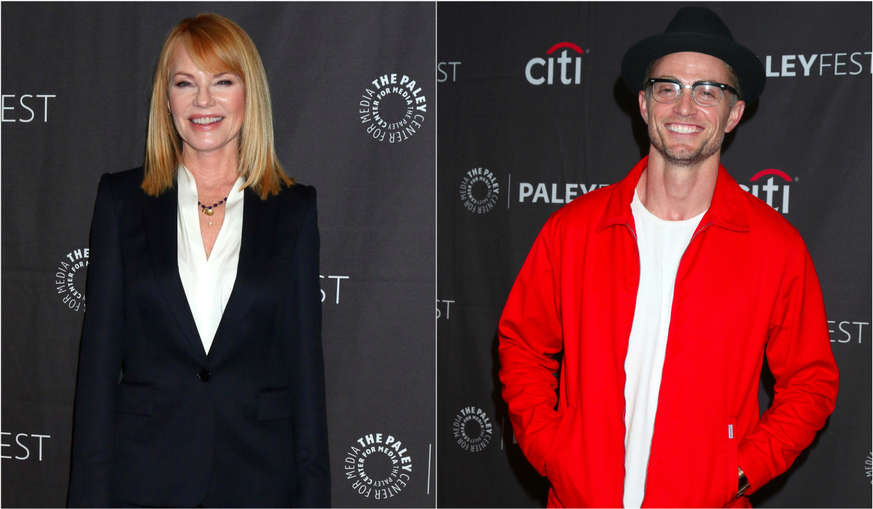 Soap opera alums Marg Helgenberger and Wilson Bethel in All Rise