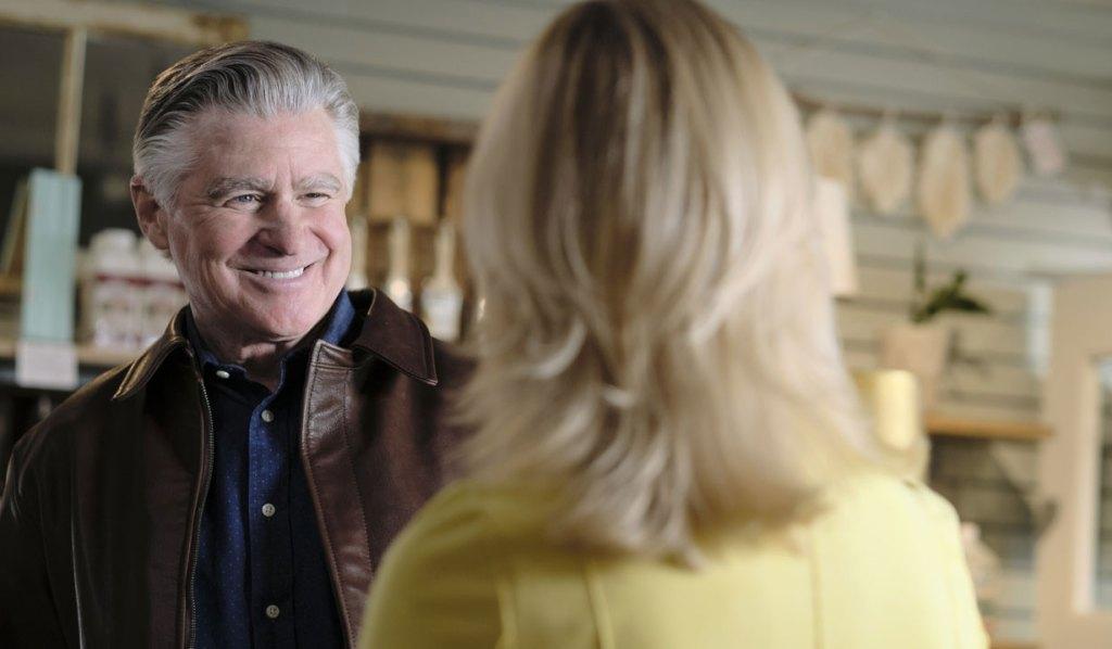 mick gets news from megan season five Chesapeake shores hallmark