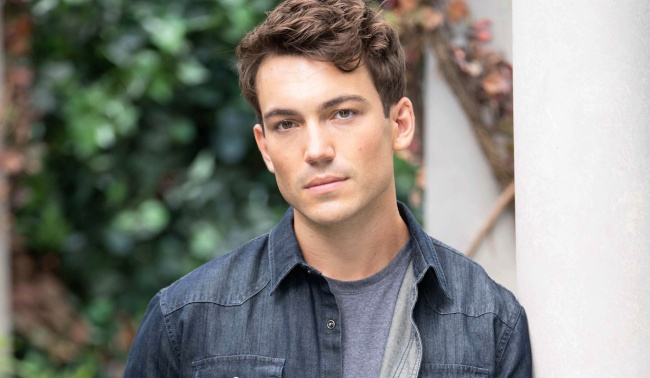 """Rory Gibson noah """"The Young and the Restless"""" Set CBS television CityLos Angeles08/20/21© Howard Wise/jpistudios.com310-657-9661"""