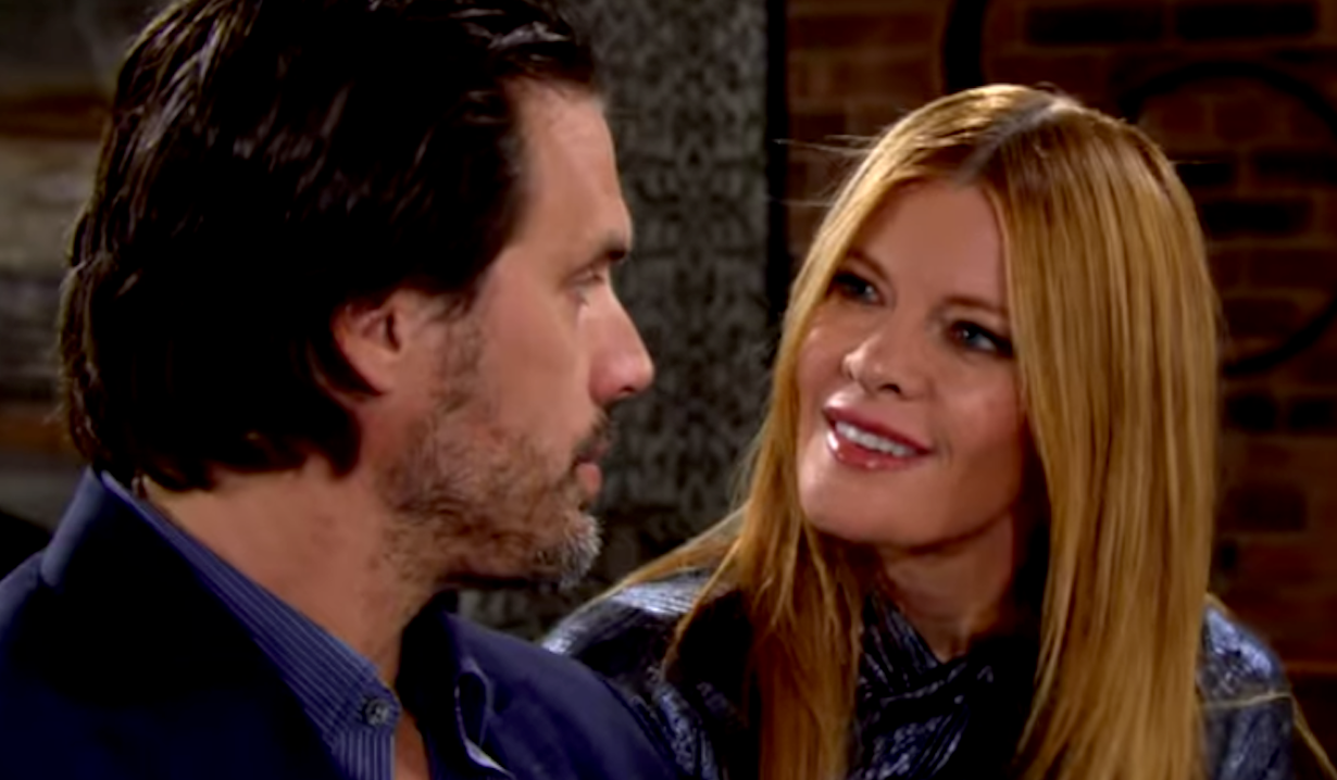 Phyllis Newman and Nick Newman flirt on Young and Restless