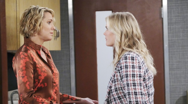Nicole and Sami face off on Days of our Lives
