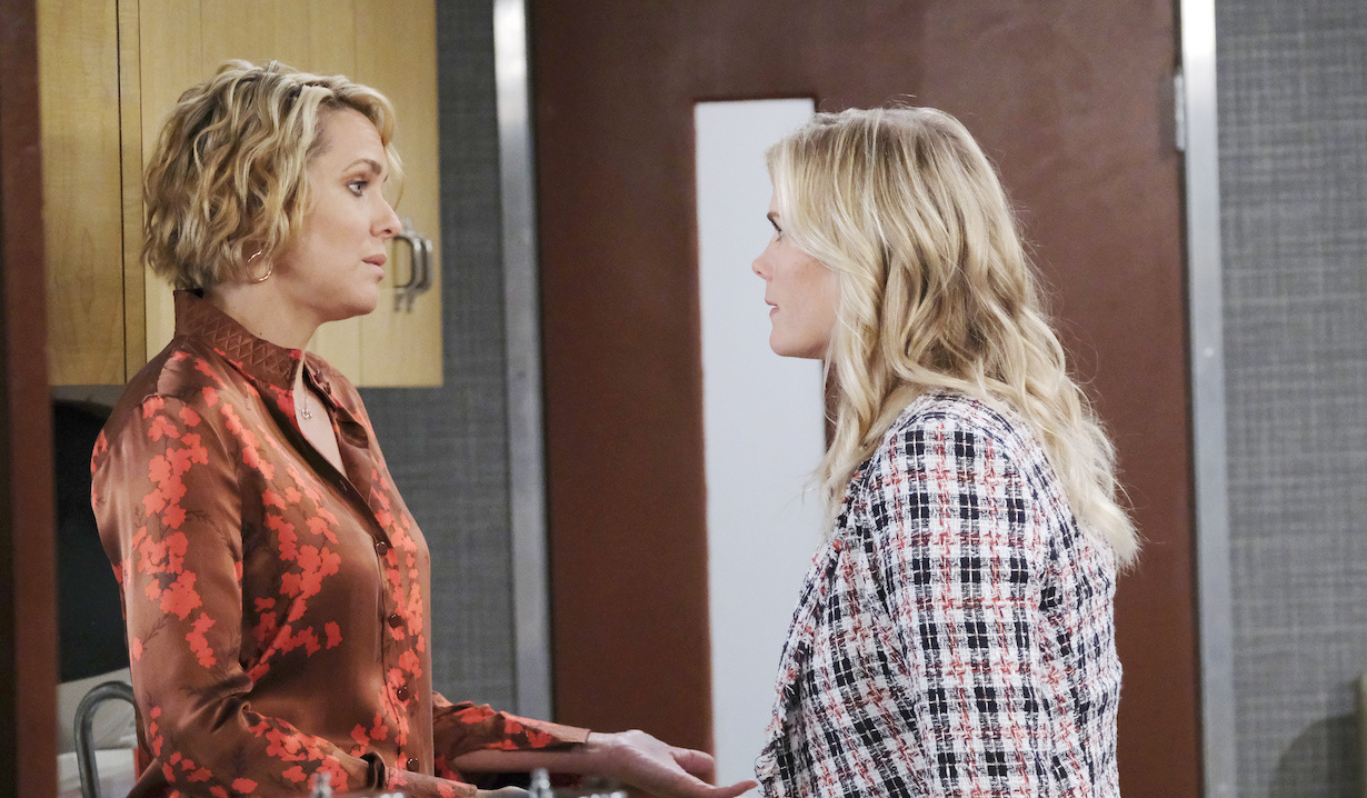 Nicole Walker faces Sami Brady on Days of our Lives