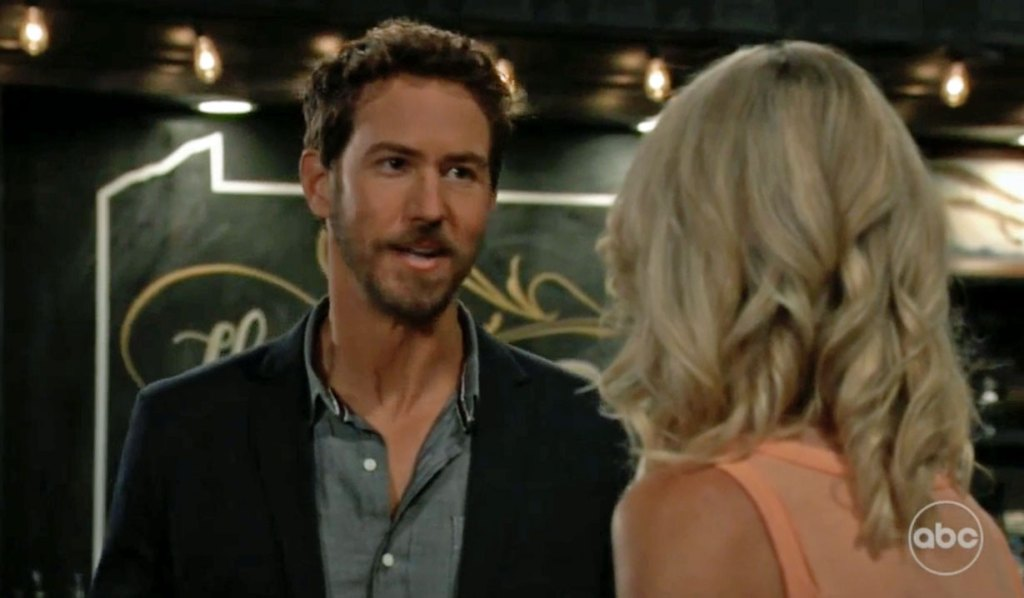 Peter gives Nina 24 Hours GH
