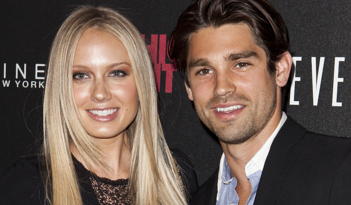 Melissa Ordway,Justin Gaston, inside for Fashion''s Night Out Celebration in LA, Beverly Center, Los Angeles, CA September 6, 2012. Photo By: Emiley Schweich/Everett Collection