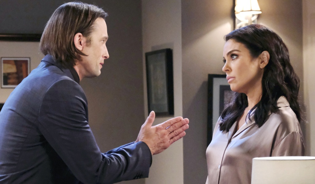 Philip pleads with Chloe on Days of Our Lives