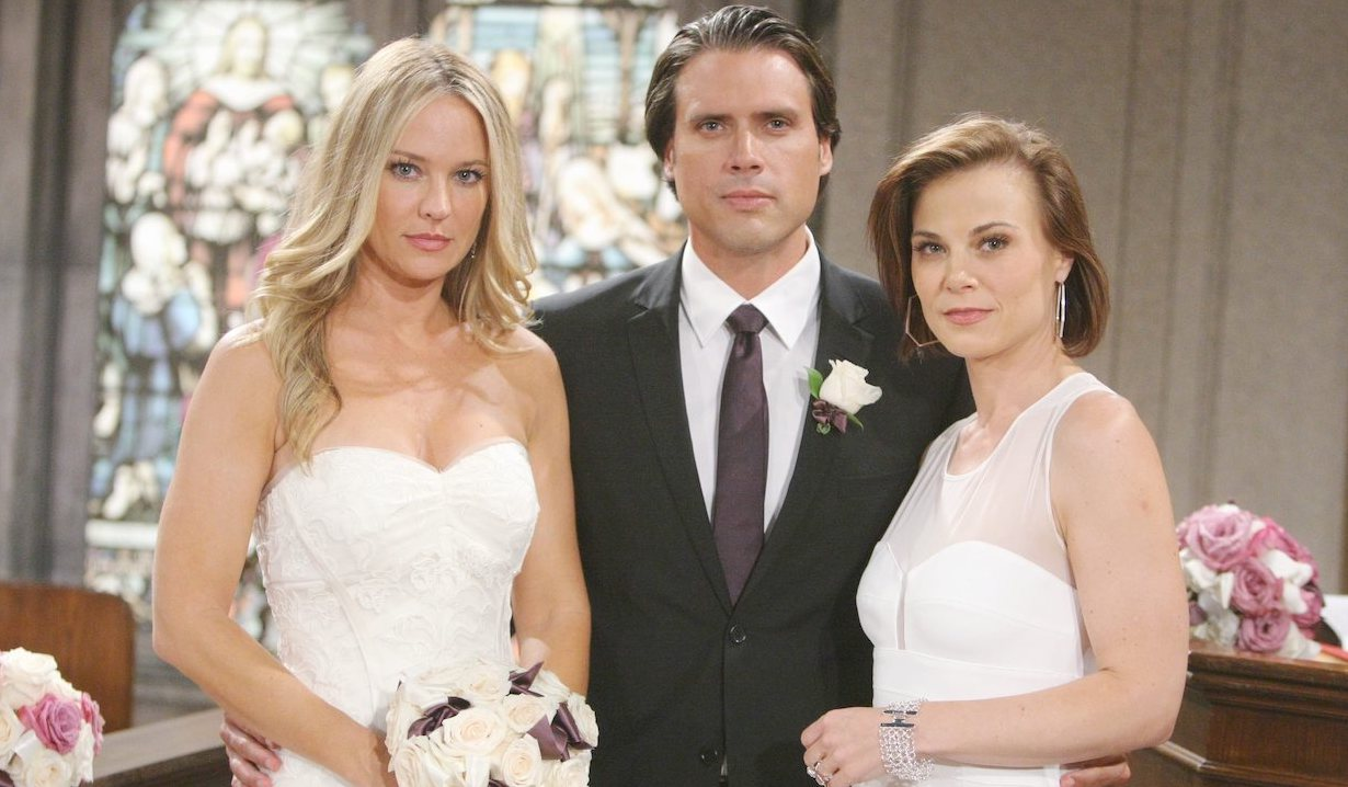 Sharon Case, Joshua Morrow, and Gina Tognoni on Young and Restless